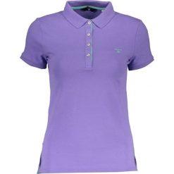 Bluzki damskie: Koszulka polo w kolorze fioletowym