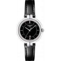 PROMOCJA ZEGAREK TISSOT T - LADY T094.210.16.051.00. Czarne zegarki damskie TISSOT, ze stali. W wyprzedaży za 1012,00 zł.