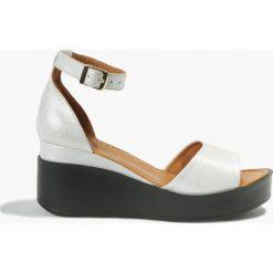 Rzymianki damskie: Sandały białe Juana