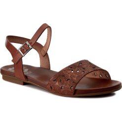 Rzymianki damskie: Sandały PORRONET - WP0-2211 Brązowy