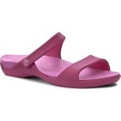 Chodaki damskie: Klapki CROCS - Cleo V 204268 Candy Pink/Party Pink