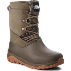 Śniegowce THE NORTH FACE - Yukiona Mid Boot T93K3B5TL  Tarmac Green/Tarmac Green. Zielone buty zimowe damskie The North Face, z materiału. W wyprzedaży za 419,00 zł.