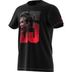Adidas Koszulka Mueller czarna r. L (BP7275). Czarne koszulki sportowe męskie marki Adidas, l. Za 86,18 zł.