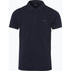 BOSS Casual - Męska koszulka polo – Prime, niebieski. Niebieskie koszulki polo BOSS Casual, m, z aplikacjami. Za 299,95 zł.