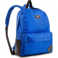 Plecak VANS - Old Skool II Backpack V00ONI89P Blue 050. Niebieskie plecaki damskie Vans, z materiału, sportowe. Za 129,00 zł.