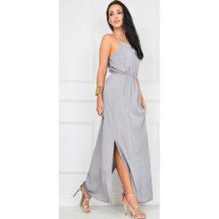 Sukienki: Gładka sukienka maxi