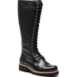 Kozaki SERGIO BARDI - Canaro FW127364518JN 101. Czarne buty zimowe damskie Sergio Bardi, ze skóry ekologicznej, przed kolano, na wysokim obcasie, na obcasie. Za 519,00 zł.