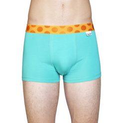 Happy Socks - Bokserki Mens Trunk Solid. Szare bokserki męskie Happy Socks, z bawełny. W wyprzedaży za 59,90 zł.