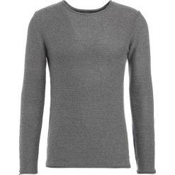 Swetry klasyczne męskie: Solid JARAH Sweter grey melange