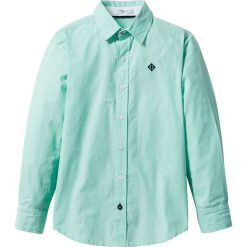 Koszule chłopięce: Koszula bonprix biało-niebieski mentolowy w paski