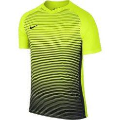 Nike Koszulka męska Dry Precision IV Y SS  żółta r. XL (832986 702). Żółte koszulki sportowe męskie marki ATORKA, xs, z elastanu. Za 97,13 zł.
