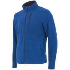 4F Męska Bluza H4Z17 plm001 Granatowy Melanż S. Niebieskie bluzy męskie rozpinane marki 4f, m, melanż, z polaru. W wyprzedaży za 89,00 zł.