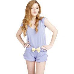 Piżamy damskie: Piżama w kolorze lawendowym