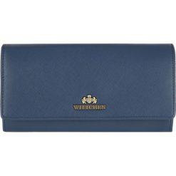 Portfel 13-1-052-N. Niebieskie portfele damskie Wittchen. Za 239,00 zł.