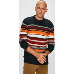 Pepe Jeans - Sweter. Szare swetry klasyczne męskie Pepe Jeans, l, z dzianiny, z okrągłym kołnierzem. Za 299,90 zł.
