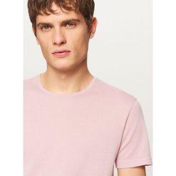 T-shirty męskie: T-shirt z lekkiej dzianiny - Różowy