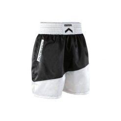 Spodenki bokserskie Adidas. Czarne bermudy męskie OUTSHOCK. W wyprzedaży za 39,99 zł.