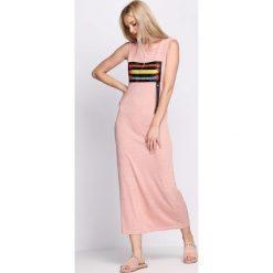 Sukienki: Różowa Sukienka One Breath