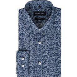 Koszula MICHELE KDWR000286. Białe koszule męskie na spinki marki Giacomo Conti, m, z bawełny, z klasycznym kołnierzykiem. Za 229,00 zł.