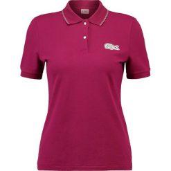 T-shirty damskie: Lacoste LIVE Koszulka polo beaujolais