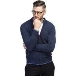 Sweter SILVESTRO SWGR000224. Białe swetry rozpinane męskie Giacomo Conti, m, z nylonu. Za 299,00 zł.