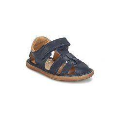 Sandały Dziecko  Shoo Pom  CRESPIN TONTON. Niebieskie sandały chłopięce marki Shoo Pom. Za 209,30 zł.