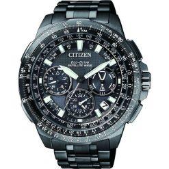ZEGAREK CITIZEN Satellite Wave CC9025-51E. Czarne zegarki męskie CITIZEN. Za 7470,00 zł.