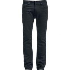 Rurki męskie: Reell Skin 2 - Slim Fit Jeansy czarny