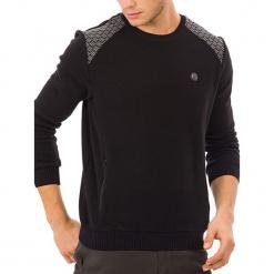 Sweter w kolorze czarnym. Czarne swetry klasyczne męskie GALVANNI, l, z okrągłym kołnierzem. W wyprzedaży za 179,95 zł.