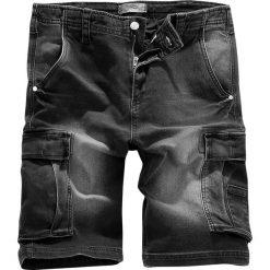 Bermudy męskie: RED by EMP Army Vintage Shorts Krótkie spodenki ciemnoszary (Anthracite)