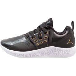 Jordan JORDAN GRIND Obuwie do koszykówki black/white/metallic gold. Czarne buty skate męskie Jordan, z materiału. Za 379,00 zł.