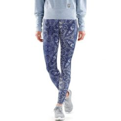 Spodnie damskie: Skins Legginsy damskie Dnamic Sport Recovery Women's Long Tights niebieskie r. L