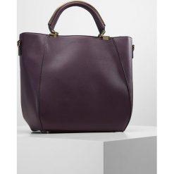 New Look JANE ZIP DETAIL Torba na zakupy dark purple. Czarne shopper bag damskie marki New Look, z materiału, na obcasie. Za 169,00 zł.