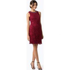 Marie Lund - Damska sukienka koktajlowa, czerwony. Czerwone sukienki balowe Marie Lund, na imprezę, w koronkowe wzory, z koronki, z krótkim rękawem, mini. Za 699,95 zł.