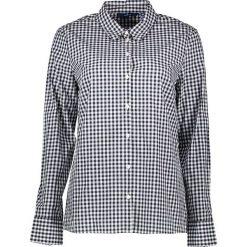 Bluzki asymetryczne: Bluzka w kolorze granatowo-białym