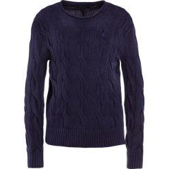 Swetry klasyczne damskie: Polo Ralph Lauren BOXY LONG SLEEVE Sweter deep indigo