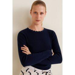 Mango - Sweter Arondita. Szare swetry klasyczne damskie Mango, l, z bawełny, z okrągłym kołnierzem. Za 99,90 zł.