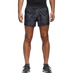 Spodenki do biegania męskie ADIDAS ADIZERO SPLIT SHORT / CE0355. Brązowe spodenki i szorty męskie Adidas, z gumy. Za 179,00 zł.