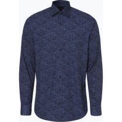 Olymp Level Five - Koszula męska łatwa w prasowaniu, niebieski. Niebieskie koszule męskie na spinki OLYMP Level Five, m, w kropki, z klasycznym kołnierzykiem. Za 249,95 zł.