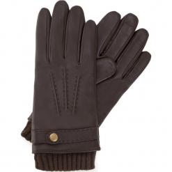 Rękawiczki męskie 39-6-354-B. Brązowe rękawiczki męskie Wittchen. Za 239,00 zł.