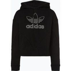 Adidas Originals - Damska bluza nierozpinana, czarny. Czarne bluzy rozpinane damskie adidas Originals, m, z krótkim rękawem, krótkie, z kapturem. Za 299,95 zł.