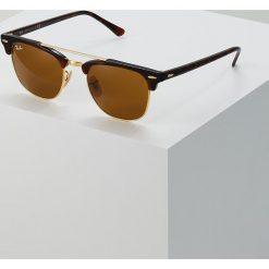 RayBan CLUBMASTER DOUBLEBRIDGE Okulary przeciwsłoneczne brown. Brązowe okulary przeciwsłoneczne damskie clubmaster marki Ray-Ban. Za 639,00 zł.