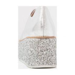 Shellys London HONOLULU Oksfordki silver. Szare jazzówki damskie Shellys London, z materiału, eleganckie. W wyprzedaży za 399,20 zł.