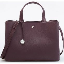 Torebka typu city - Bordowy. Czerwone torebki klasyczne damskie Reserved. Za 129,99 zł.