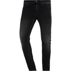 Spodnie męskie: Edwin ED85 DROP CROTCH Jeansy Slim Fit black acid