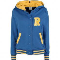 Riverdale Cheerleader Bluza z kapturem rozpinana damska niebieski/żółty. Niebieskie bluzy rozpinane damskie marki Riverdale, l, z kapturem. Za 264,90 zł.
