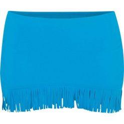 Figi bikini ze spódniczką bonprix niebieski. Niebieskie bikini bonprix. Za 59,99 zł.