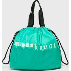 Under Armour - Torebka. Szare torebki klasyczne damskie Under Armour, z materiału, duże. Za 139,90 zł.