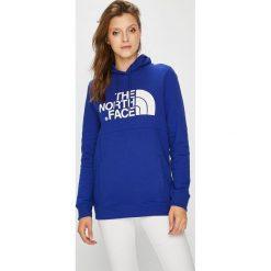 The North Face - Bluza. Szare bluzy rozpinane damskie The North Face, l, z nadrukiem, z bawełny, z kapturem. W wyprzedaży za 259,90 zł.