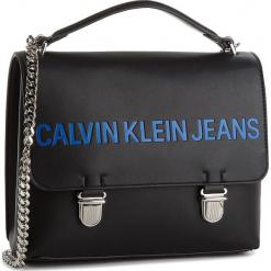 Torebka CALVIN KLEIN JEANS - Sculpted Flap 21 K40K400381 001. Czarne torebki klasyczne damskie Calvin Klein Jeans, z jeansu, duże. Za 649,00 zł.